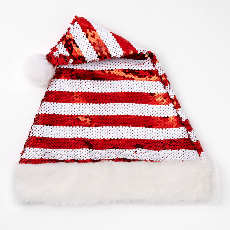Reversible Sequins Santa Hat,