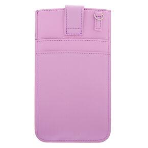 Crossbody Phone Pouch - Lilac,