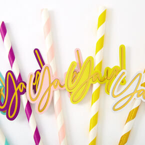 Yay! Party Straws - 6 Pack,