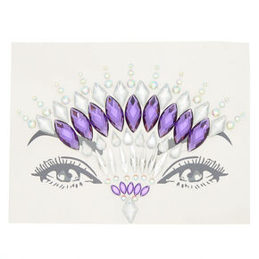 Forehead Skin Gems - Purple,