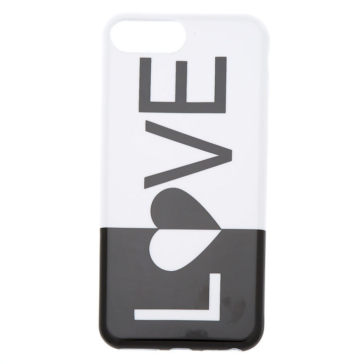 Black and White Love Phone Case,