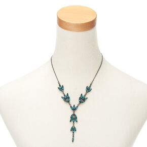 Hematite Vine Jewelry Set - Green, 2 Pack,