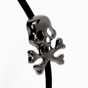 Skull Headband - Black,