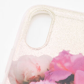 Paris Perfume Bottle Glitter Phone Case - Fits iPhone XR,