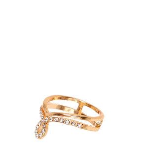 Gold Loop Ring,