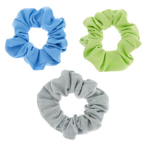 Small Earth Tone Hair Scrunchies - 3 Pack,