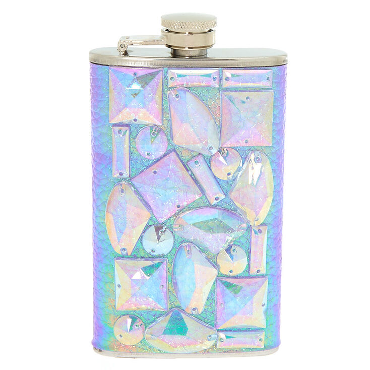 Holographic Gem Flask - Purple,