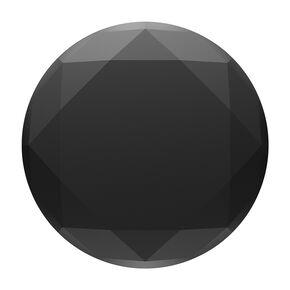 Black Metallic Diamond PopGrip PopSocket,