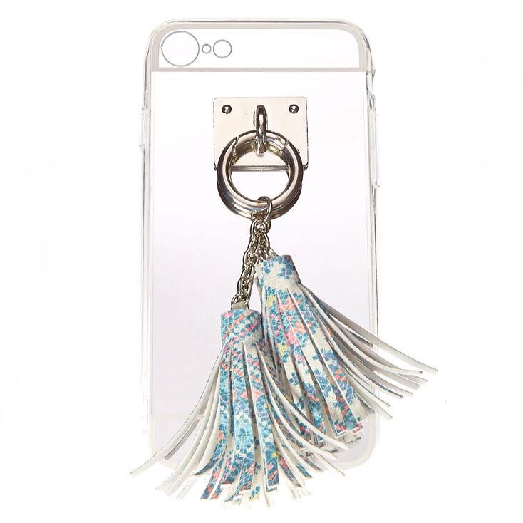 Mirrored Tassel Phone Case - Fits iPhone 6/7/8,