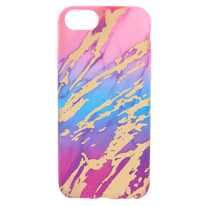 Rainbow Marble Phone Case,