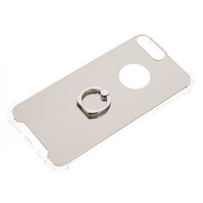 Mirrored Ring Holder Protective Phone Case,
