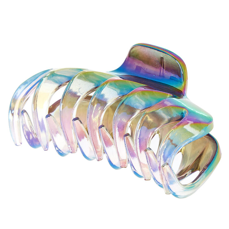 Medium Anodized Spike Hair Claw,