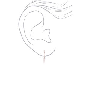 Silver Mixed Earrings Set - 9 Pack,