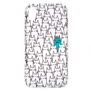 Where's Whiskers Clear Phone Case - Fits iPhone XR,