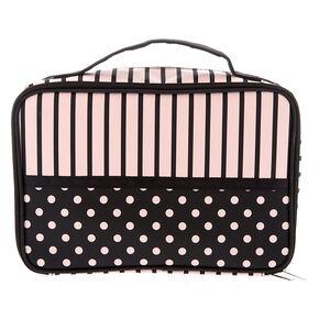 Parisian Traveler Makeup Bag - Pink,