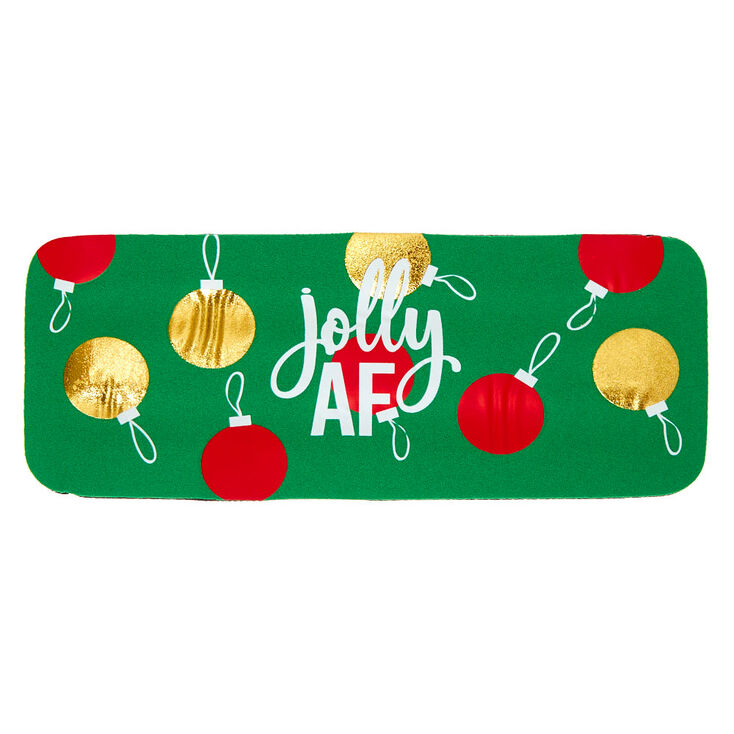 Jolly AF Slap Drink Koozie - Green,