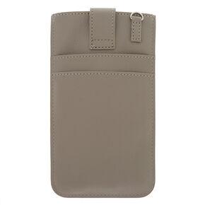 Crossbody Phone Pouch - Gray,