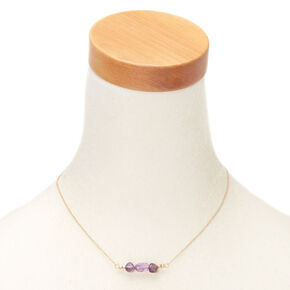 Amethyst Peace Pendant Necklace,