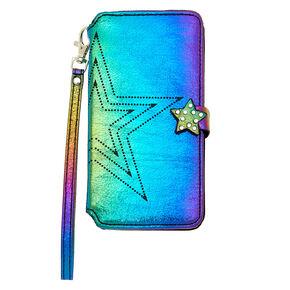 Anodized Star Folio Phone Case - Fits iPhone 6/7/8 Plus,