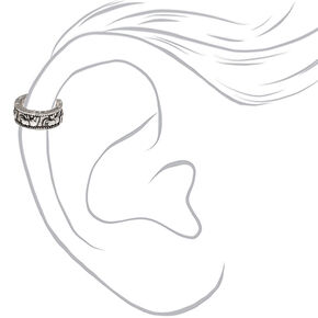 Silver Elephant Moon Ear Cuffs - 3 Pack,
