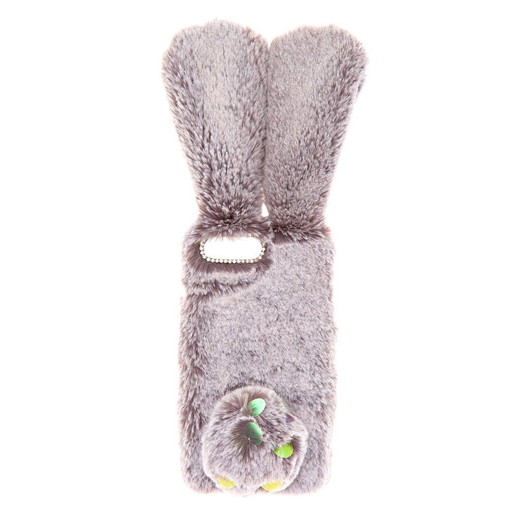 Faux Fur Bunny Phone Case - Fits iPhone 6/7/8 Plus,