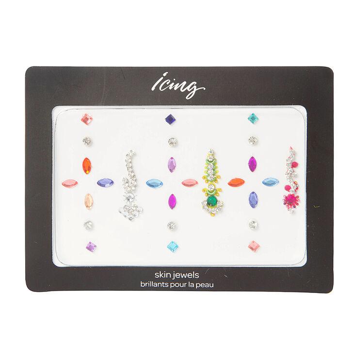 Assorted Color Bindi Skin Gems,
