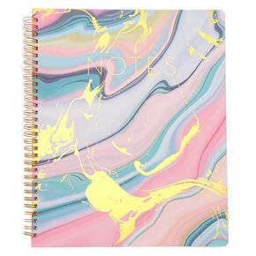 Pastel Marble Notebook,
