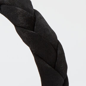 Braided Headband - Black,