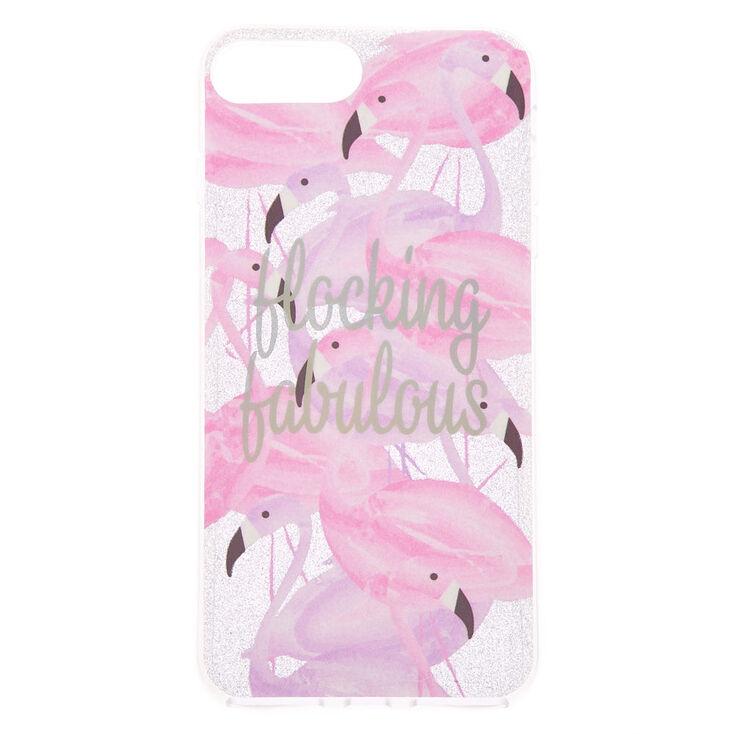 Flocking Fabulous Phone Case - Fits iPhone 6/7/8 Plus,