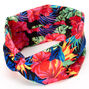 Tropical Palms Twisted Headwrap,