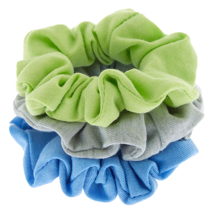 Small Earth Tone Hair Scrunchies - 3 Pack,