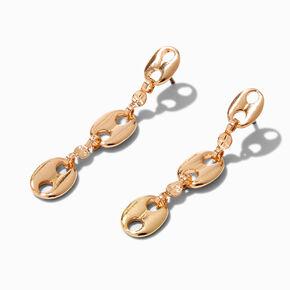 Gold Double Chain Choker,