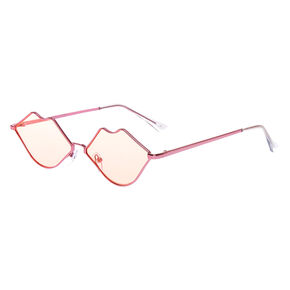 Lips Sunglasses - Pink,