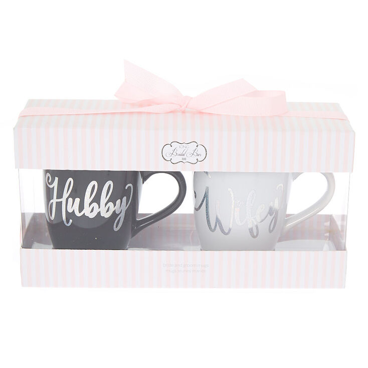 Hubby and Wifey Mug Set - 2 Pack,