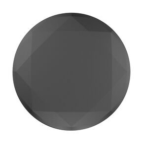 Black Metallic Diamond PopSocket,