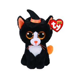 Ty Beanie Boo Small Witchie the Cat Plush Toy,