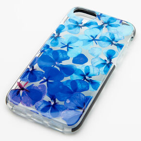 Navy Ombre Floral Phone Case - Fits iPhone 6/7/8/SE,