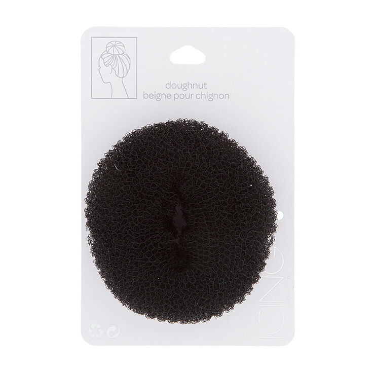 Small Dark Brunette Hair Doughnut,