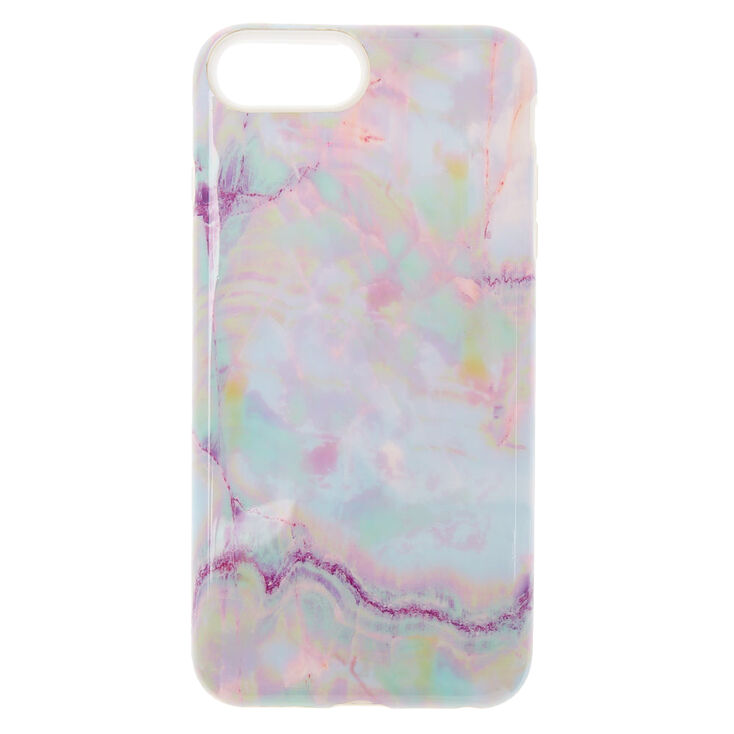 Opal Stone Protective Phone Case - Fits iPhone 6/7/8 Plus,