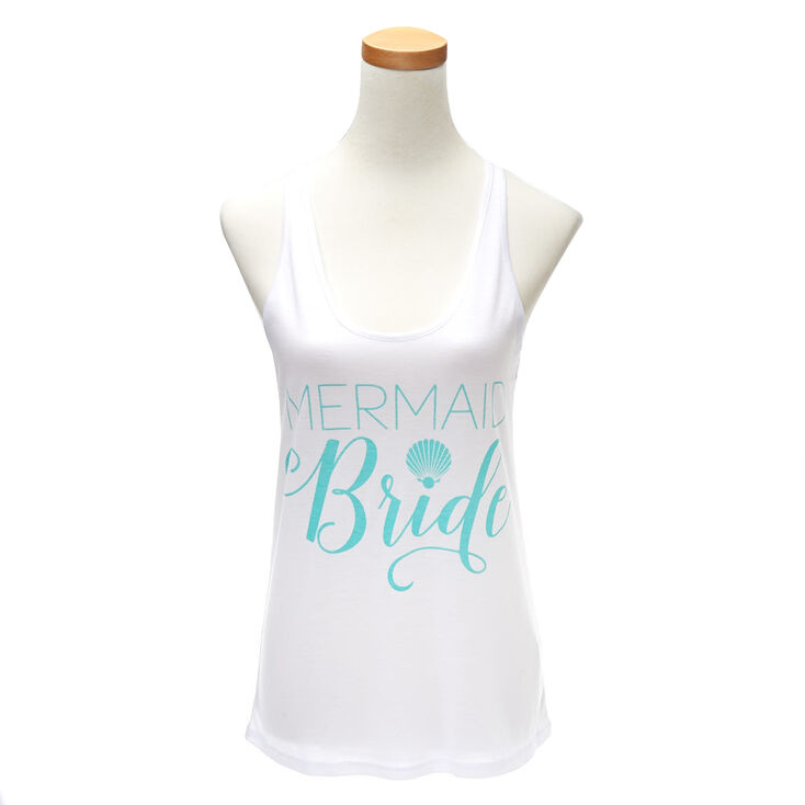 Mermaid Bride Tank Top,
