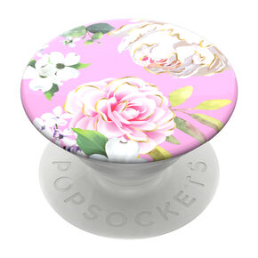 PopSockets Swappable PopGrip - Pink Floral,