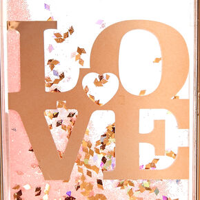 Love Liquid Filled Phone Case,