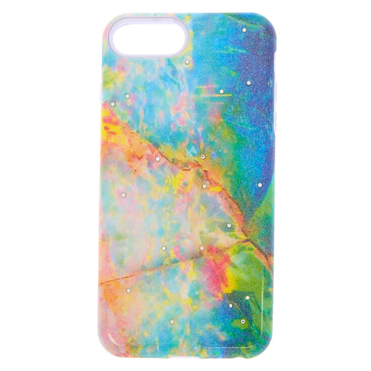 online store 90a73 c923a Dark Opal Stone Protective Phone Case - Fits iPhone 6/7/8 Plus