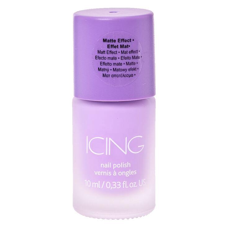 Matte Nail Polish - Sorbet Purple,