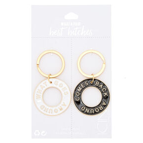 Best Friends Karma Keychains - 2 Pack,