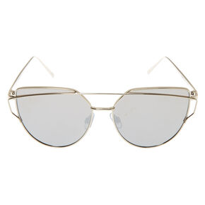 Round Cateye Sunglasses,