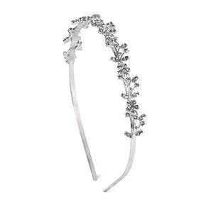 Crystal Flowers & Vine Headband,