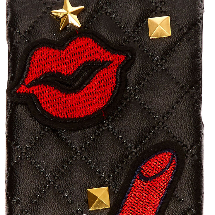 Rock Star Quilted Phone Case,