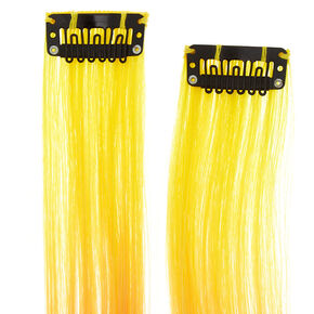 Rainbow Faux Hair Extensions - 2 Pack,