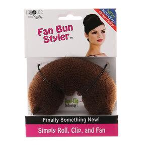 LocALoc® Brunette Fan Bun Styler,